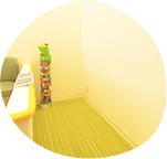 キッズルーム完備/バリアフリーの安心設計
